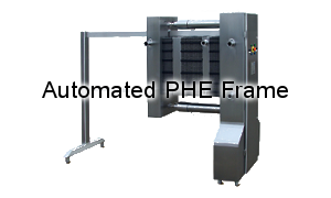 Automated frames eliminate maintenance down-time for your plate heat exchangers.