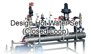 Design Continuous Hot Water System / Clean-In-Place.