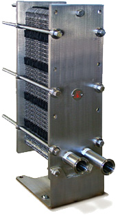 Plate wort chiller - Thermaline T4