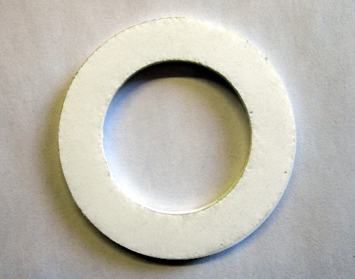 "31106 - T4 Flat Port Gasket Flexitalic White 1-1/2"" ID x 2-3/8"" OD x 1/8***"